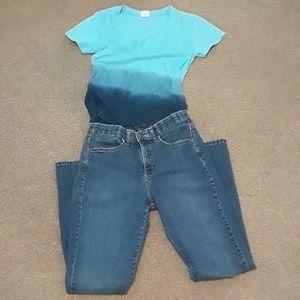 Lee boot cut jeans